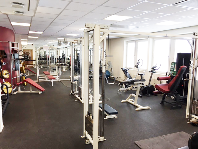 Gym 2 - Moderntkontorshotell